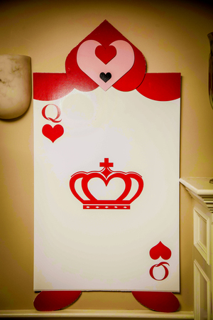 Queen of Hearts Props