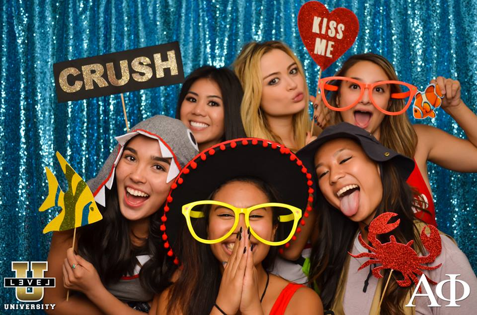 Alpha Phi Crush Party Photo Booth 11/20/15
