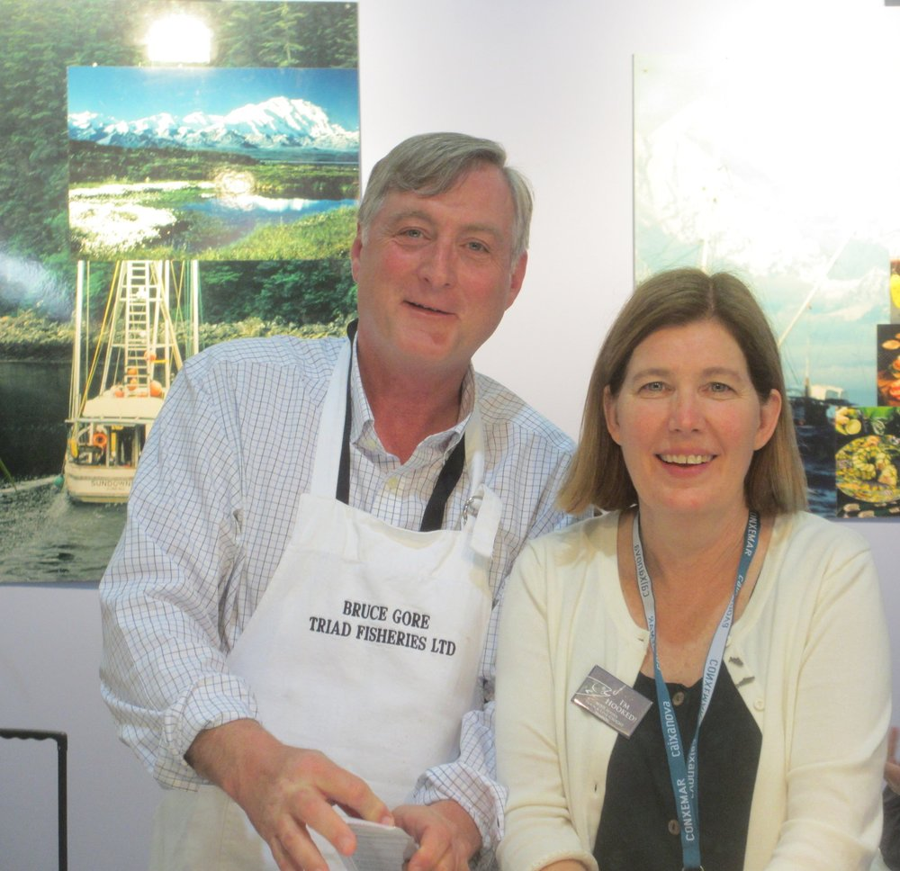 Beth & Mark at Brussels Seafood Show