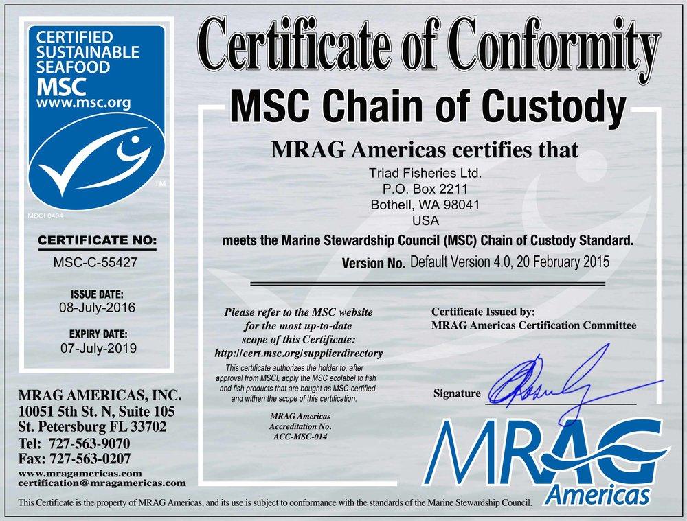 Triad Fisheries MSC Certificate 2016.jpg