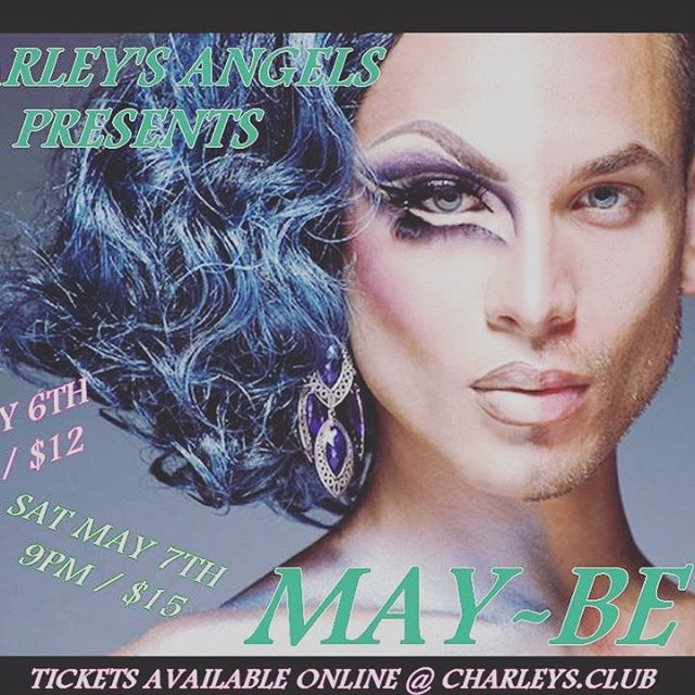 "Friends and family we have two weeks until the Charleys Angels ""May"" show. Let's get those tickets early online at www.charleys.club. As always Friday's $12 in advance and Saturday is $15. #charleyangels #clubcharleyspocatello #lgbt"