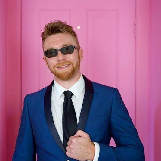 "Playing the last ""ginge binge"" to celebrate this handsome devil on Monday November 13th at Emporium Arcade bar Wicker Park with @absolutelynotband and Speed Babes. FREE"