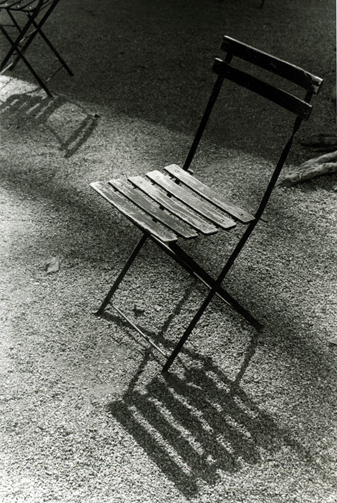 Bryant Park Chair With Shadow