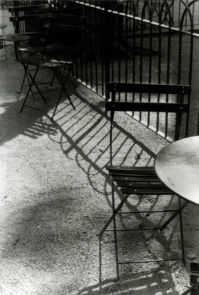 Tables & Chairs By Fence, Bryant Park