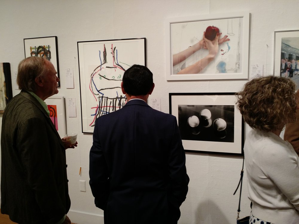 Preview works for Sale at the Berkeley Art Center Auction: Now through Sept 24th.