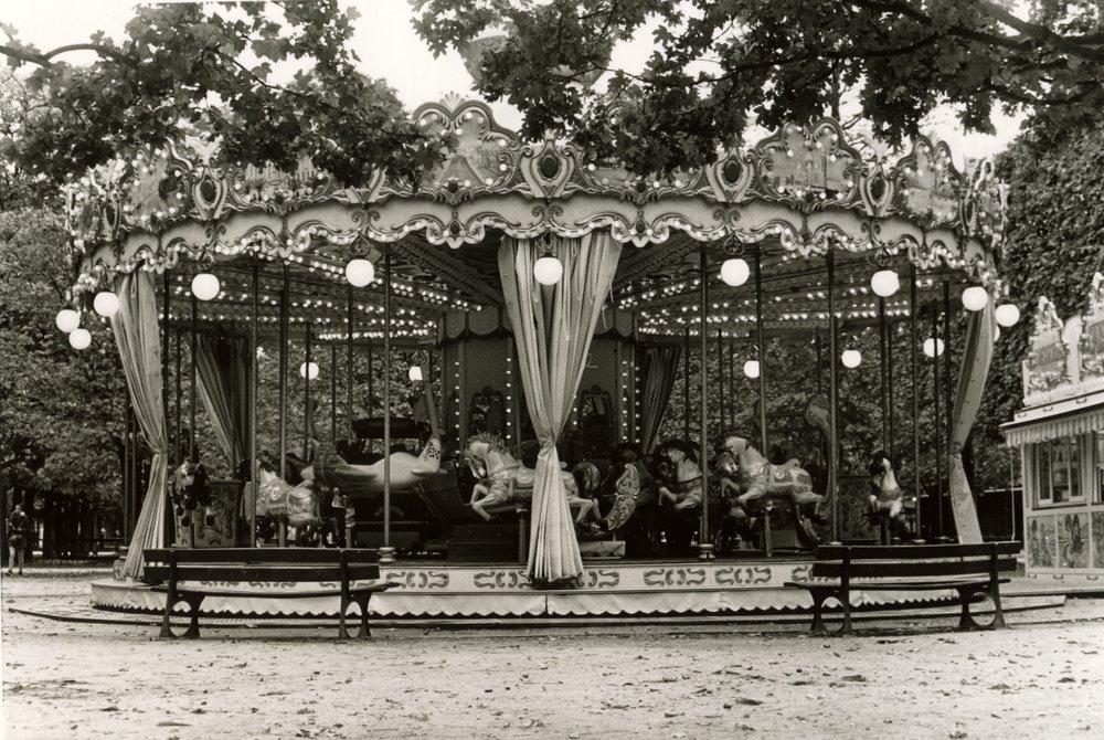 Carousel. Paris. 2018.