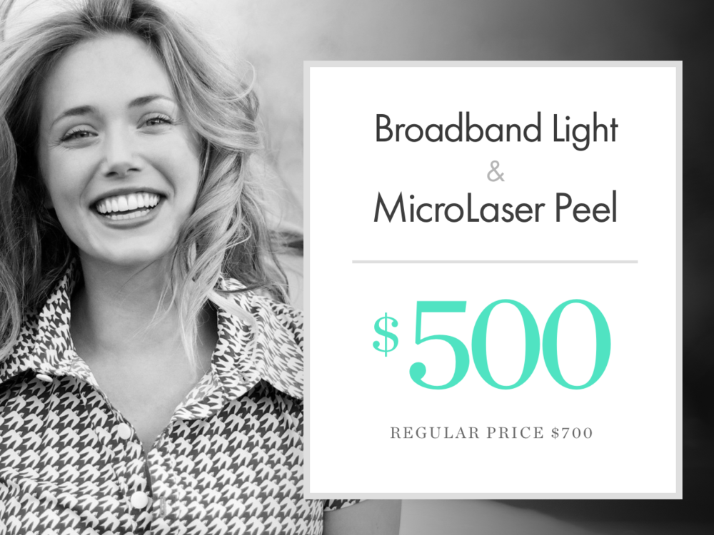 Broadband Light & MicroLaser Peel
