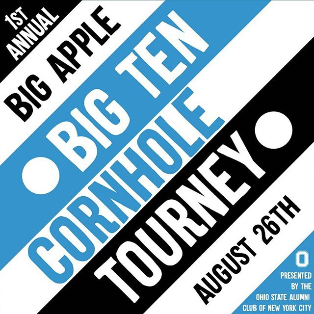 Big Ten Cornhole Tournament We're partnering with other Big Ten clubs for an awesome cornhole tournament, benefitting Best Friend Animal Society in SoHo! Sign up to compete on our team and claim victory for the University of Iowa. Grab your ticket to join us at Pig Beach (480 Union Street in Brooklyn) on Sunday, August 26 from 12 - 5 PM. #babt #bigten #bigapplebigten #nymetroiowaclub #nychawkeyes #gohawks #iowahawkeyes (look for ticket details on our website and Instagram story! )