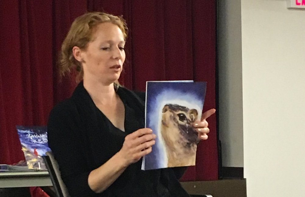 Deb reading Remember Owl at Book reading with BPL1.jpg