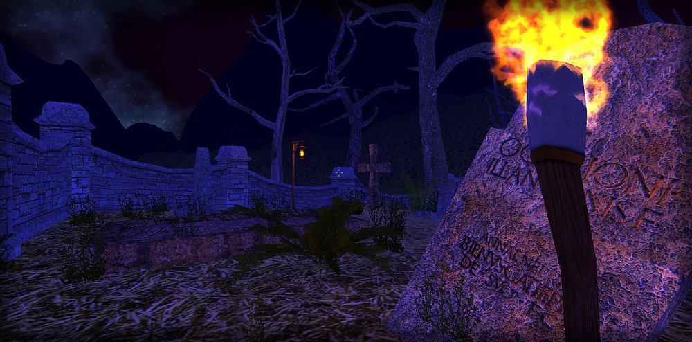 Spell Venture - Graveyard