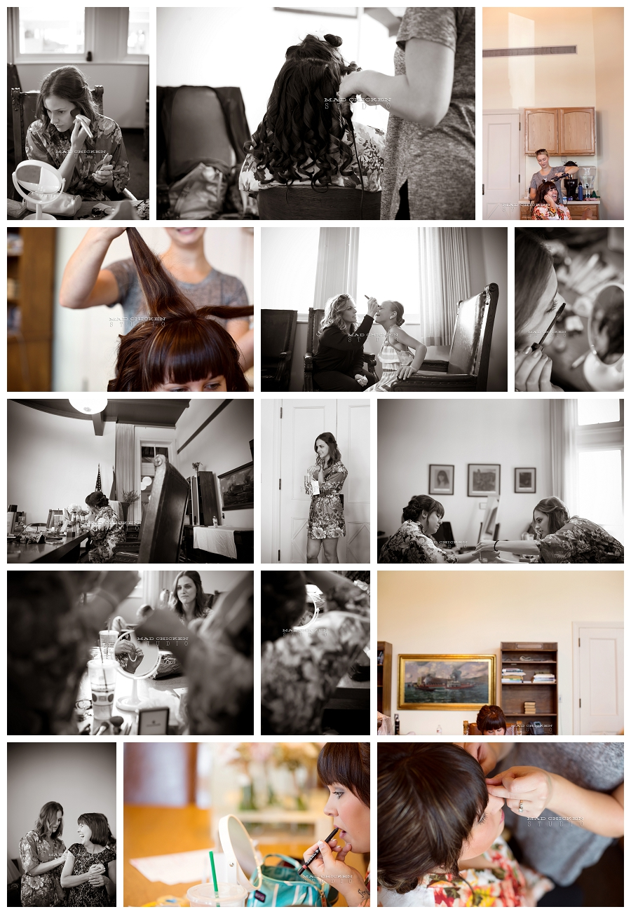 002 duluth wedding photographer mad chicken studio photographing hair and makeup at the depot duluth.jpg