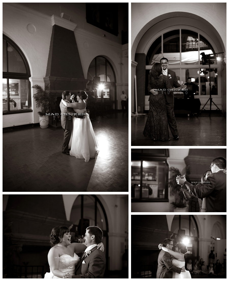 015 duluth wedding photographer mad chicken studio photographing first dances at the depot duluth.jpg