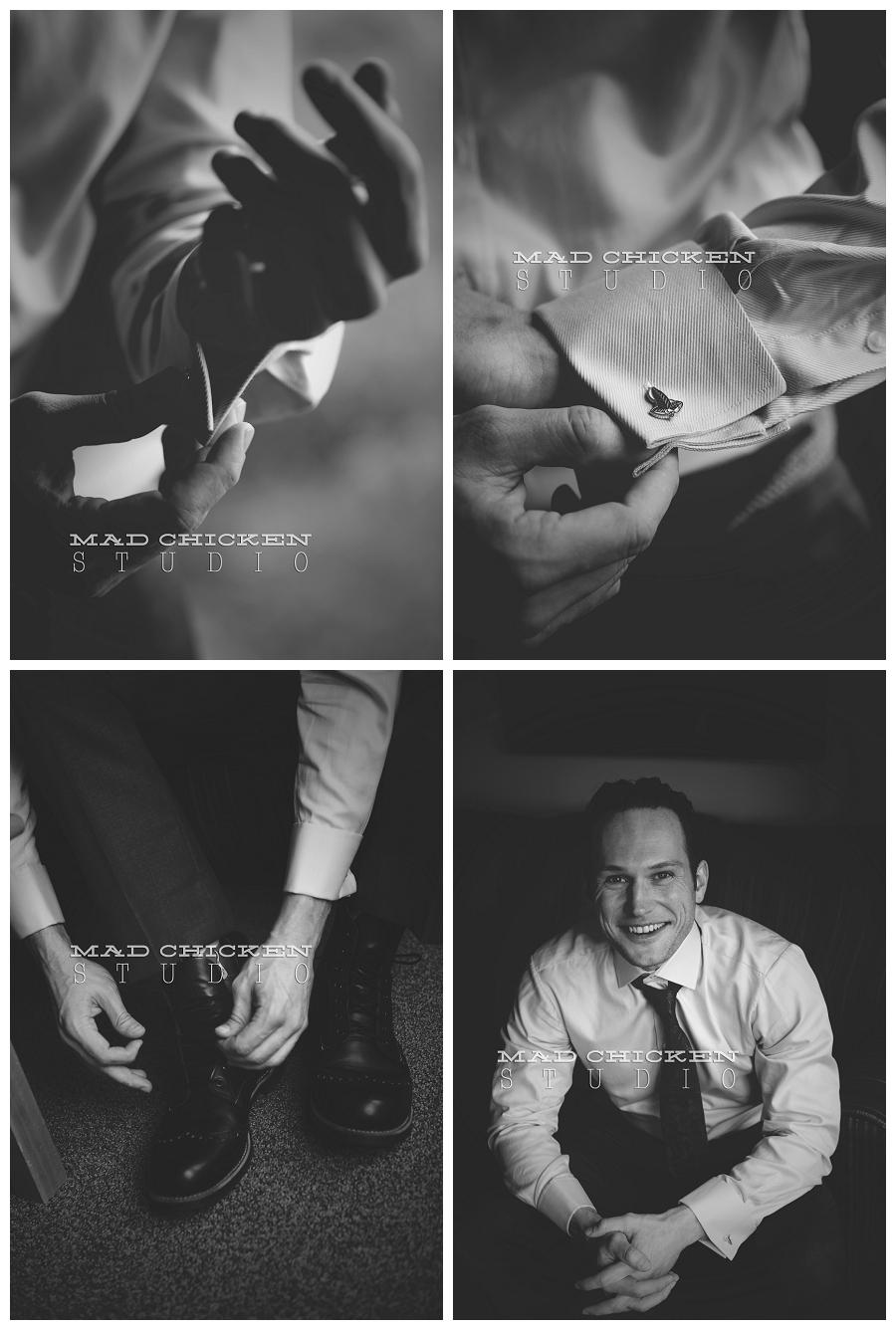 07 duluth wedding photographer mad chicken studio photographing groom at lutsen resort.jpg