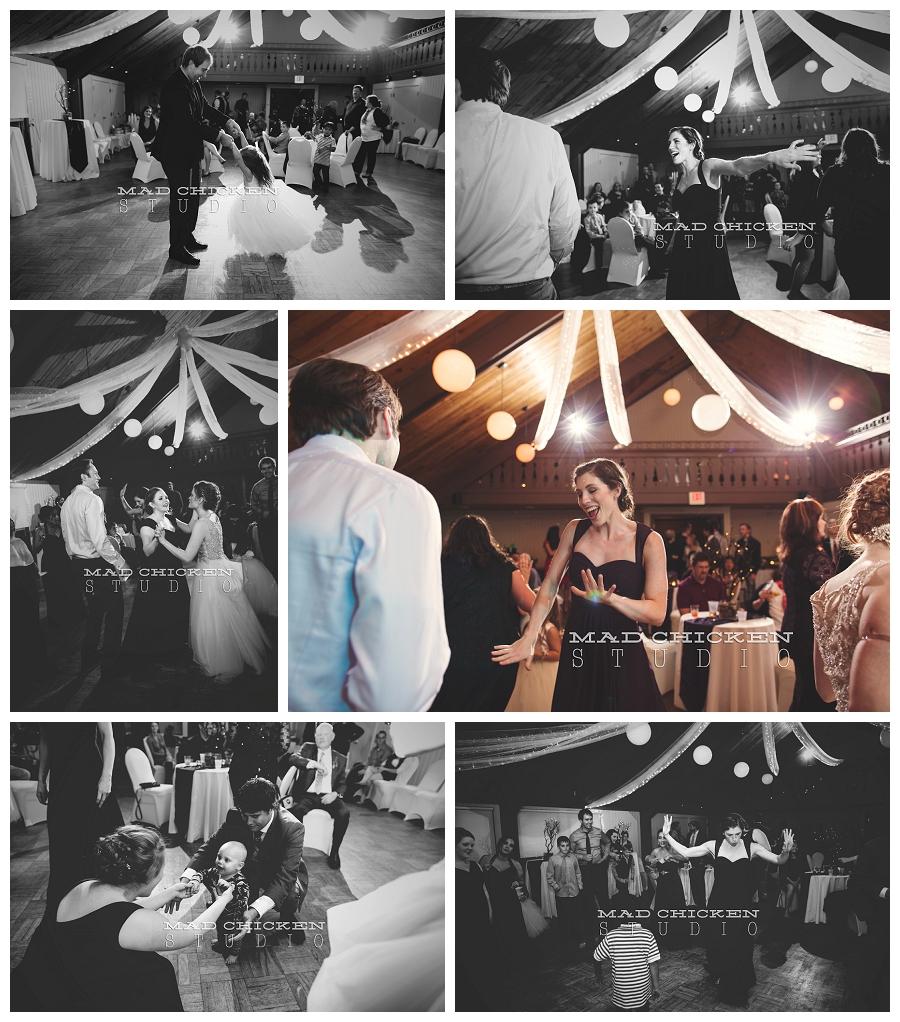 35 wedding reception dancing at lutsen resort photographed by duluth wedding photographer mad chicken studio.jpg