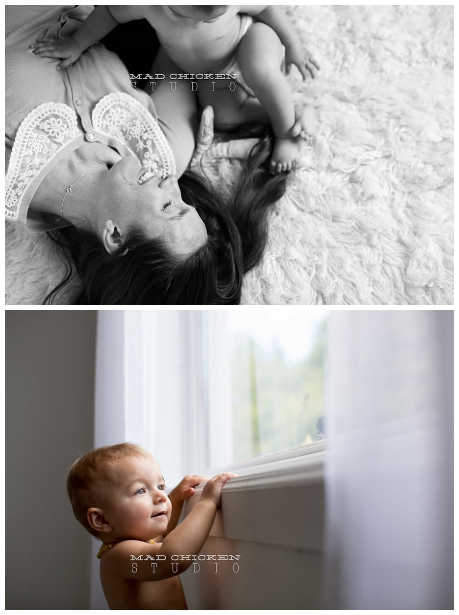 07 duluth family photographer mad chicken studio photographing mom and baby in duluth mn.jpg
