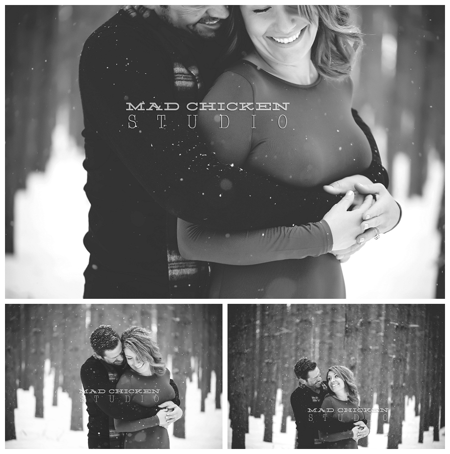 hartley nature center engagement session | duluth wedding and engagement photographer | mad chicken studio | northland special events wedding at bluefin bay