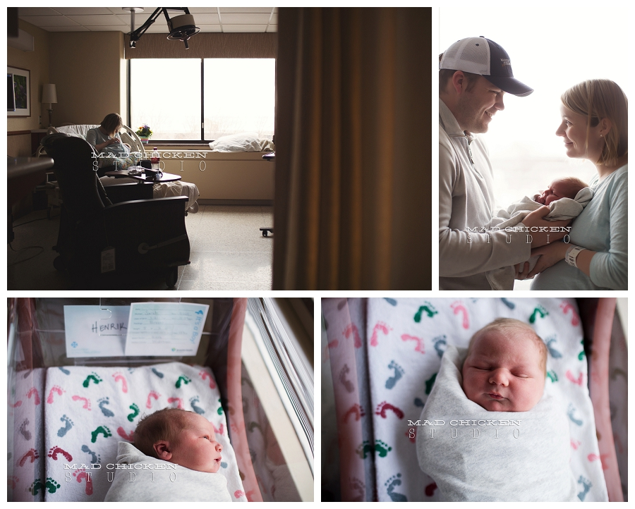 duluth newborn photographer | mad chicken studio | essentia health st mary's hospital | fresh 48 newborn photography session