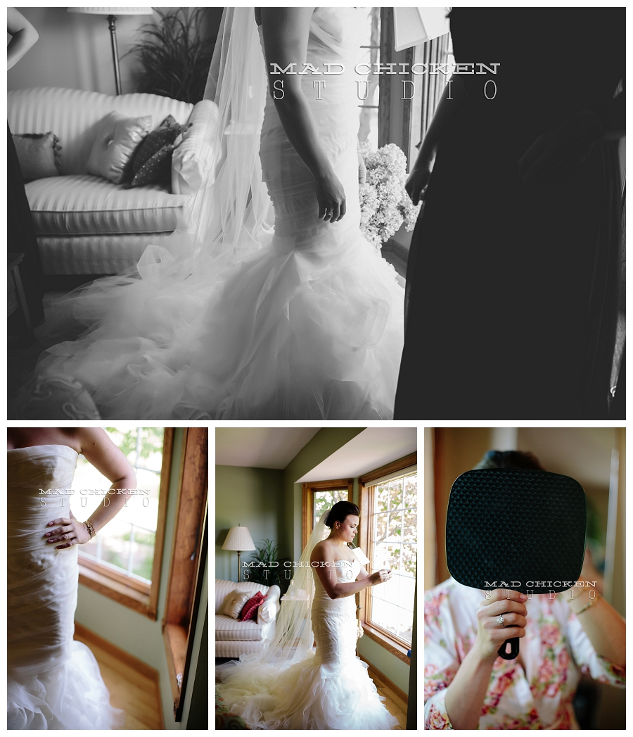 duluth wedding photographer | minneapolis, mn | jes hayes with mad chicken studio | vera wang wedding gown