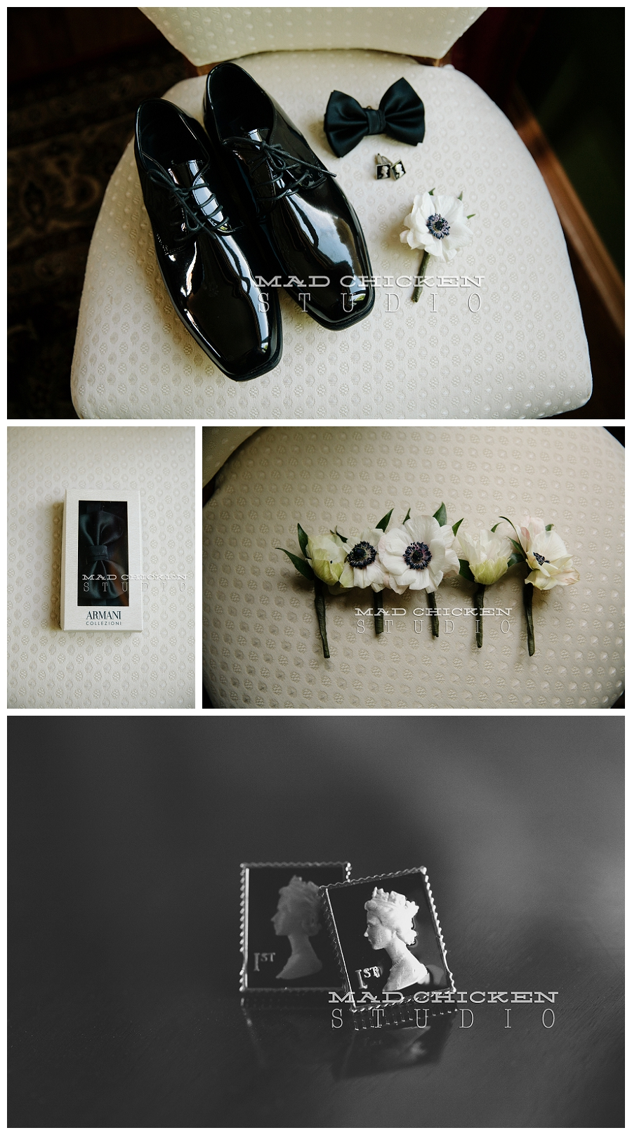 duluth wedding photographer | minneapolis, mn | jes hayes with mad chicken studio | hugo boss menswear | armani bow tie