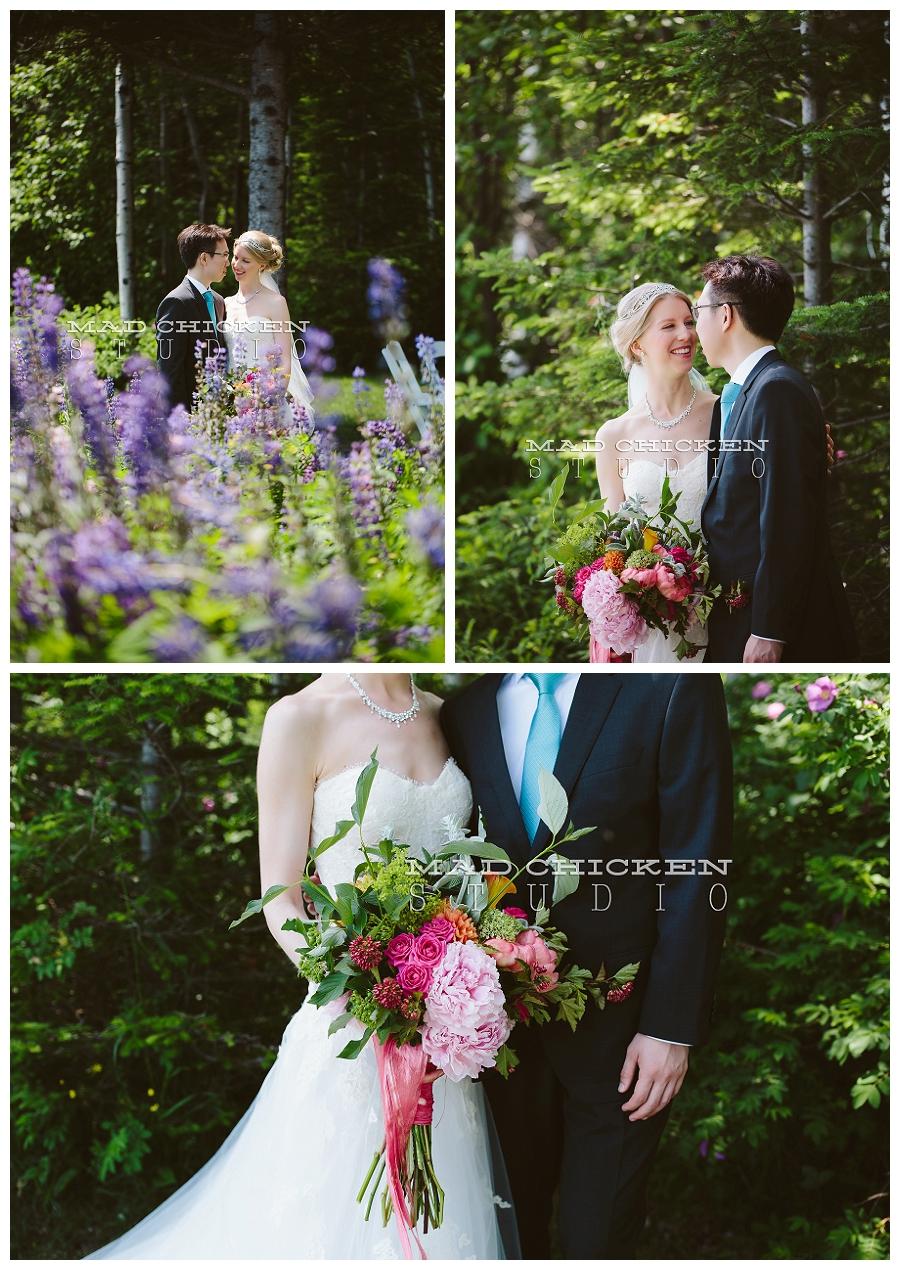 duluth wedding photographer | mad chicken studio | Darrick and Laura on Lake Superior | Monique Lhuillier | Bella Flora Duluth