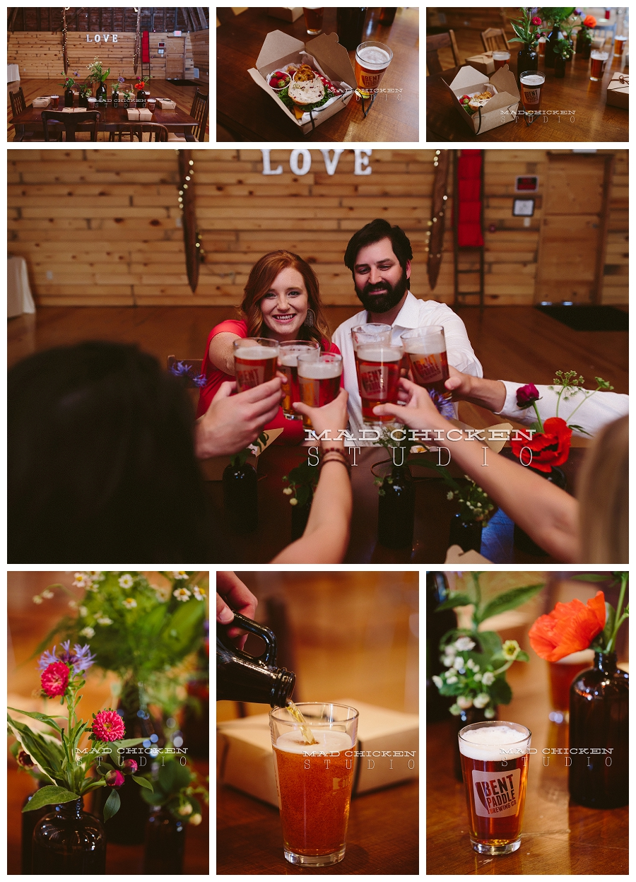 Bent Paddle Beer | Saffron and Grey | Simply Gypsy Events | Brule River Wedding and Event Center | Duluth Wedding Photographer, Mad Chicken Studio
