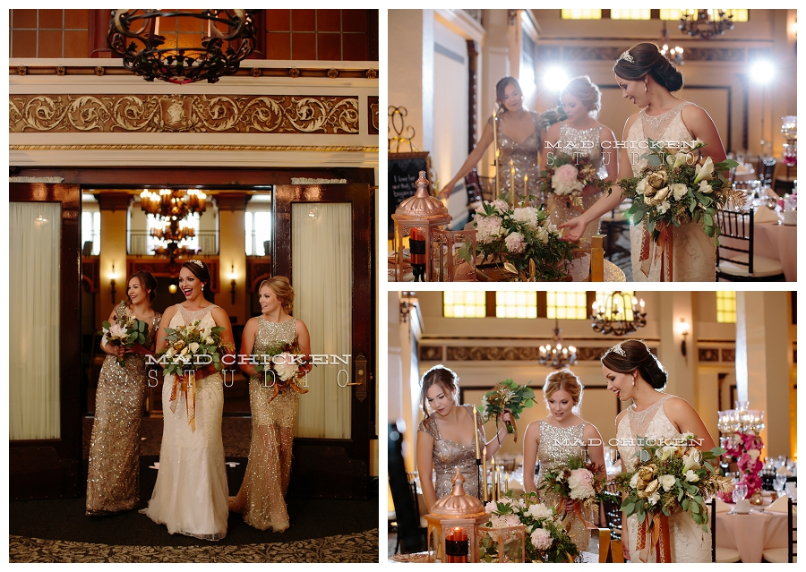The Moorish Room at Greysolon Ballroom in Duluth, MN | Northland Special Events | How Sweet It Is | 2 Dye 4 Salon | Christian Lane Bridal | Duluth Wedding Photographer, Mad Chicken Studio