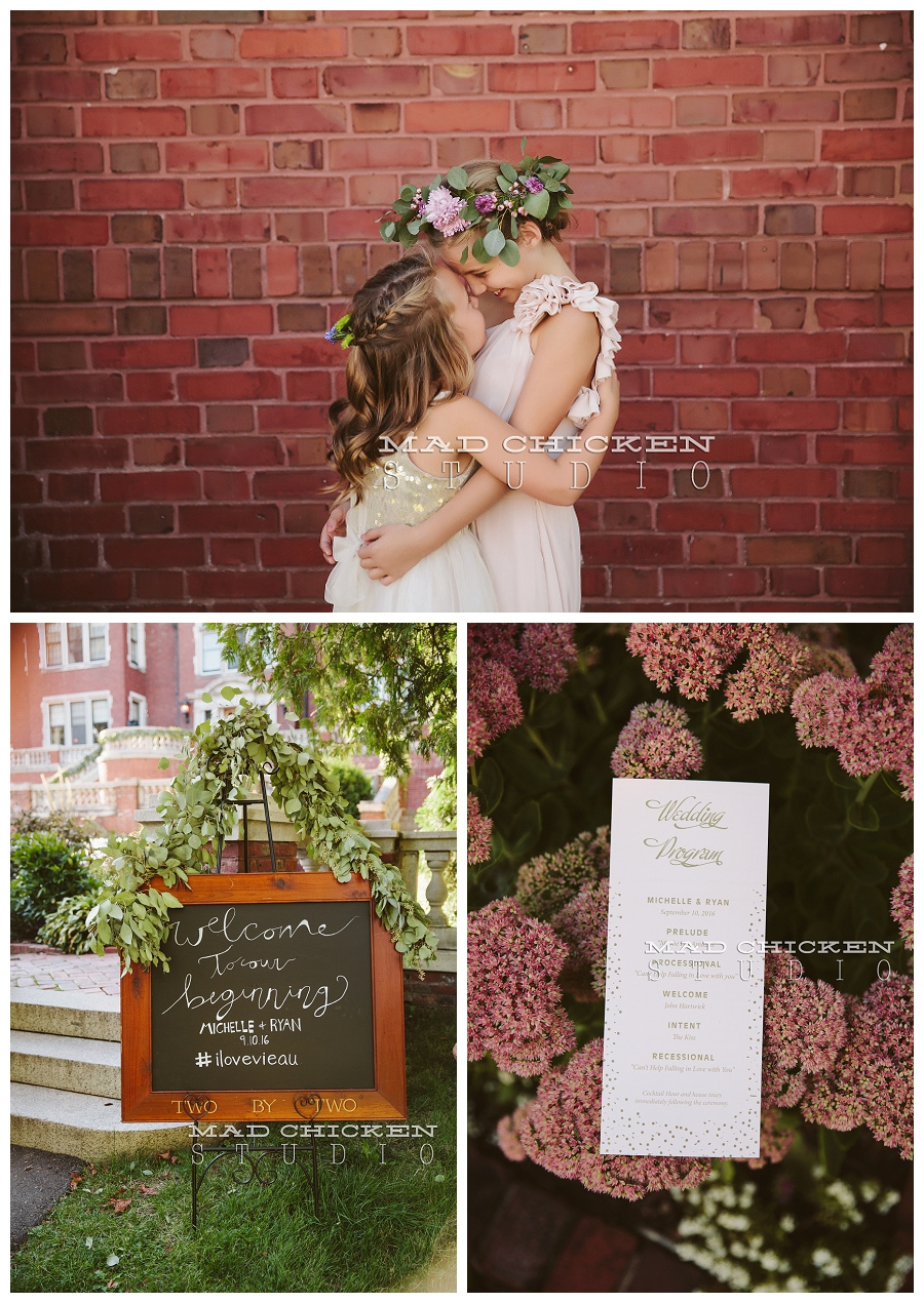 Glensheen wedding in Duluth, MN | Wedding photography by Mad Chicken Studio | Northland Special Events