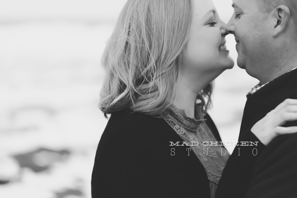 Ben and Kate's Park Point engagement session on Lake Superior in Duluth, MN | Wedding venue Lutsen Resort