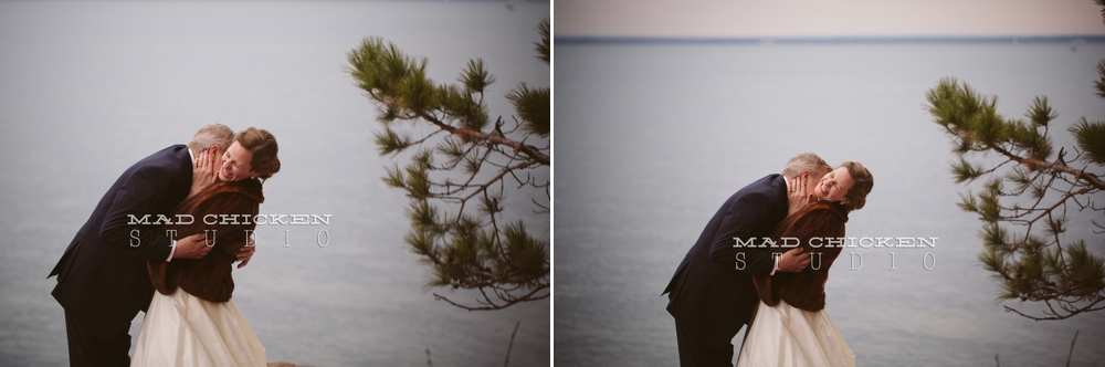 Lake Superior engagement session in Bayfield, WI | Duluth Wedding Photographer, Mad Chicken Studio | Houghton Falls
