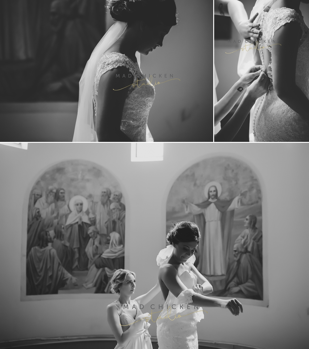 Superior Cathedral wedding photographer | Mad Chicken Studio | getting ready