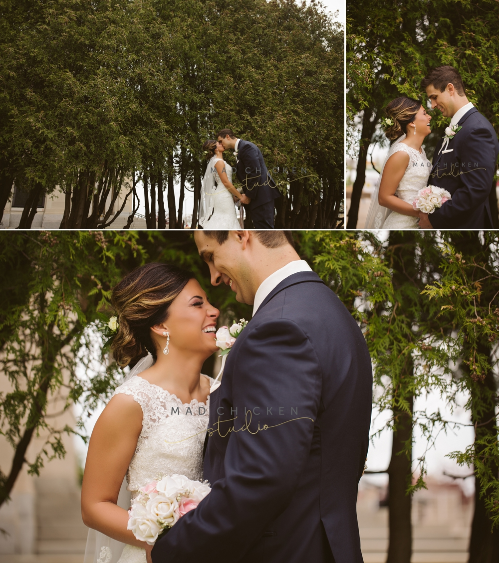 Superior Cathedral wedding photographer | Mad Chicken Studio | bride and groom