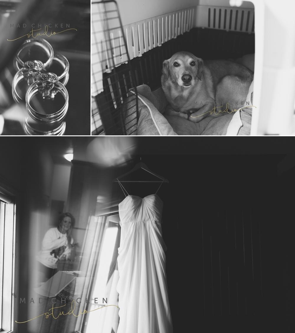 Wedding details at Summit Chalet