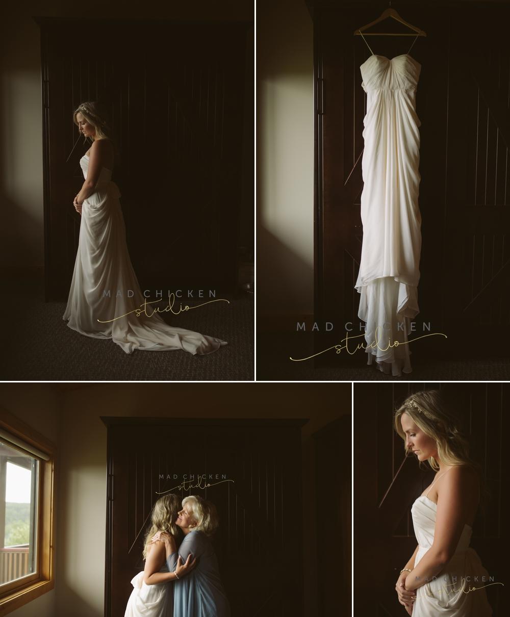 bridal portraits at Summit Chalet