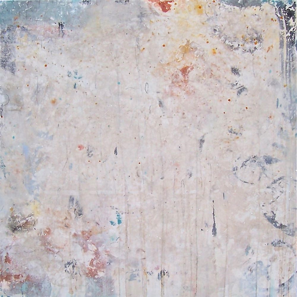 light field   mixed media on panel  60 x 60 x 2  sold