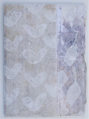 pattern I   mixed media / paper / wood  23 x 16 x 1  sold