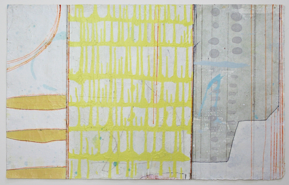 lemonade       mixed media on paper       25 x 17       sold  .  .
