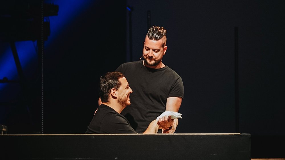 """Your story is evidence of what can happen in a life when hope enters."" We loved celebrating Jason Dishong's baptism at NP/NIGHTS. Check out his full story now!"