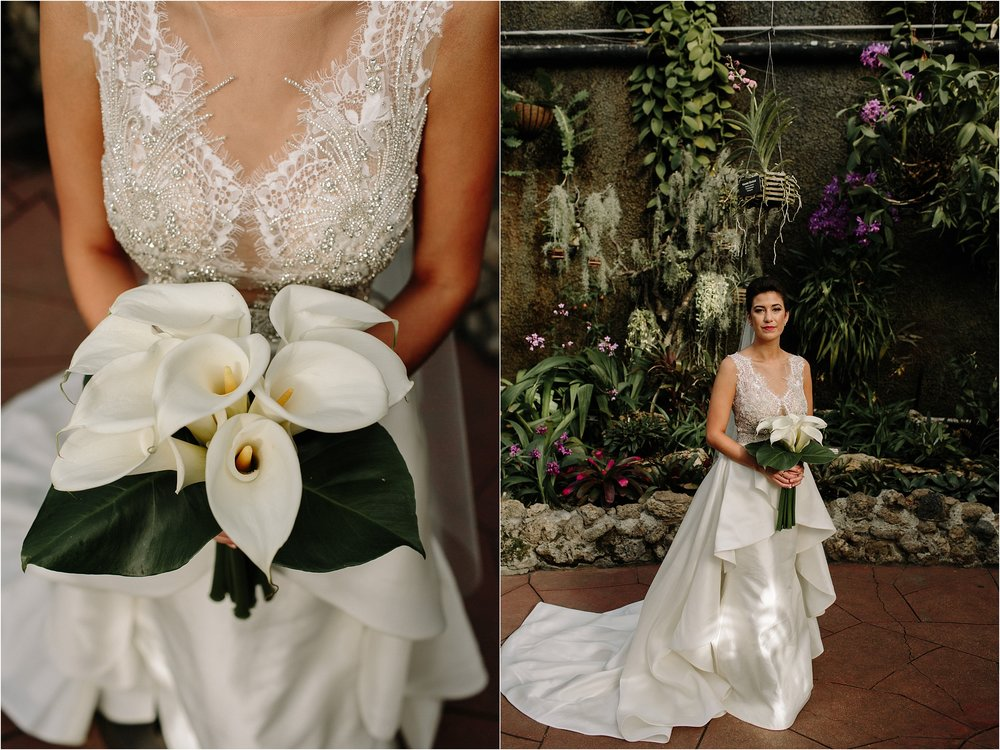 Lincoln Park Conservatory Chicago Wedding