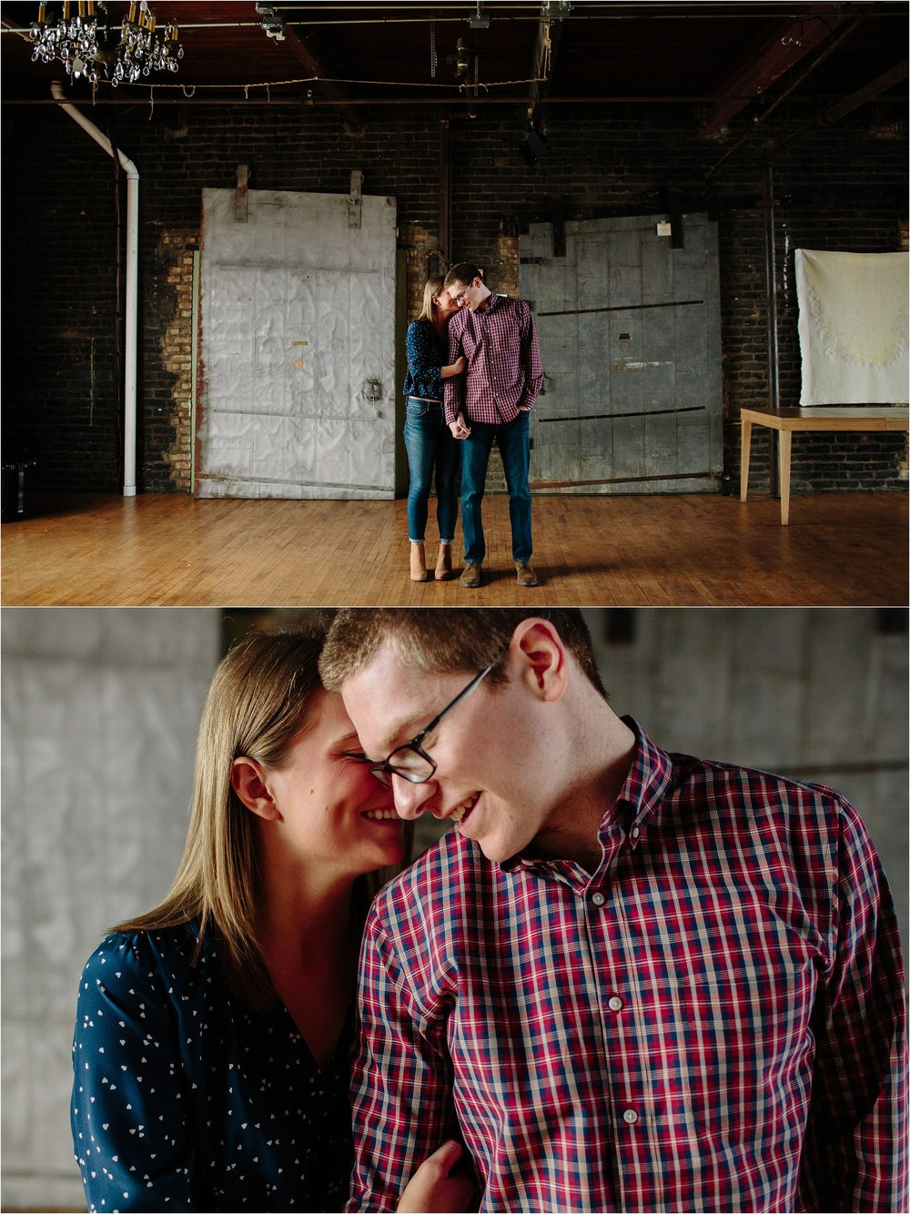 Salvage One Engagement Session, Chicago Wedding Photographer