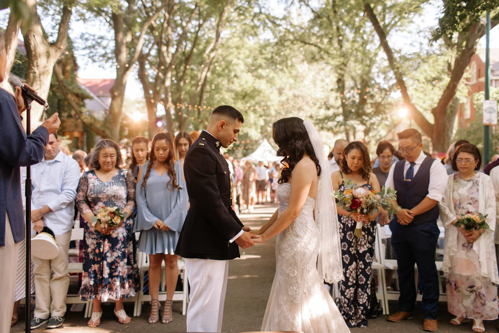 Chicago Block Party Wedding