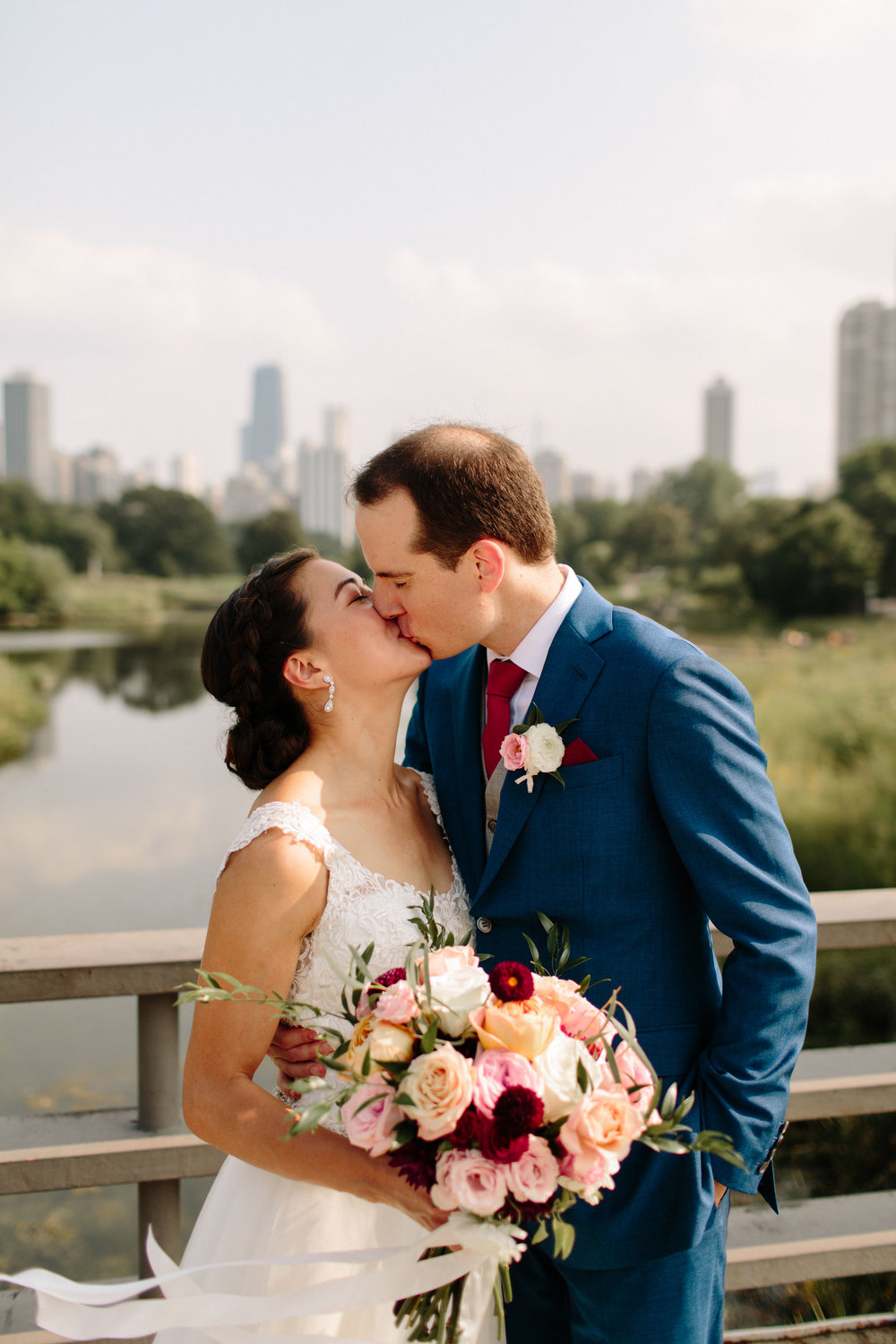 Chicago wedding photographer, Lincoln Park wedding photos