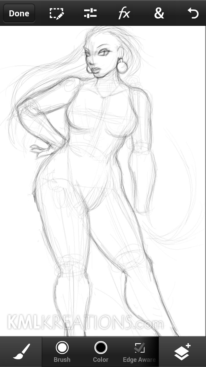 Curves in a Black Dress and Heels_WIP01.jpg