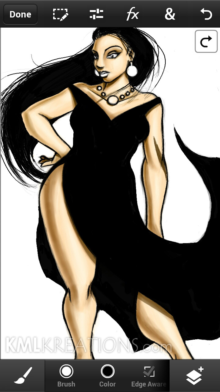 Curves in a Black Dress and Heels_WIP05.jpg
