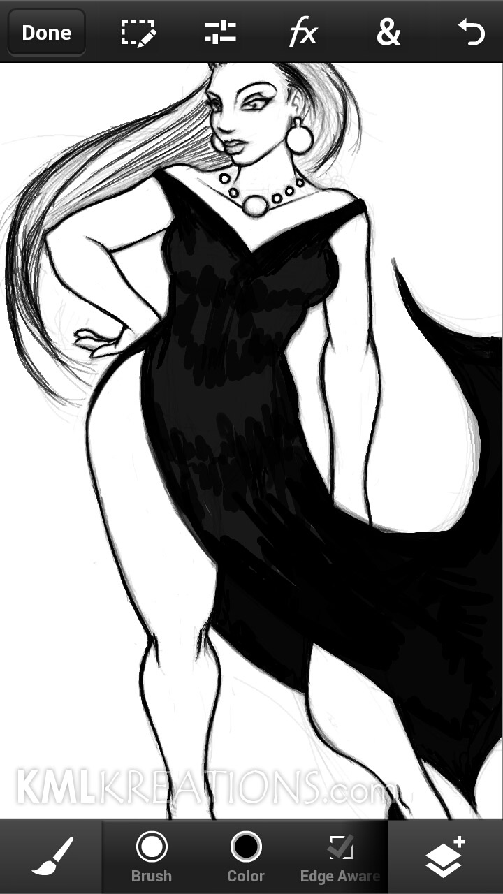 Curves in a Black Dress and Heels_WIP06.jpg