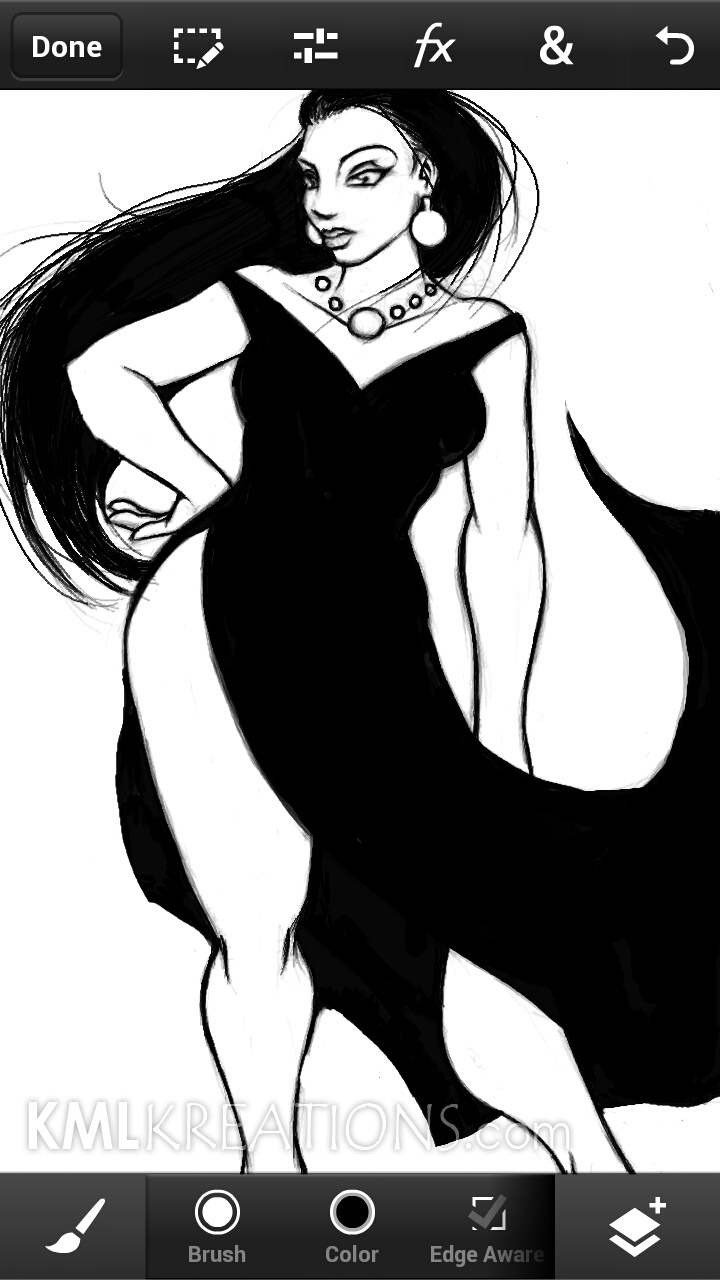 Curves in a Black Dress and Heels_WIP07.jpg