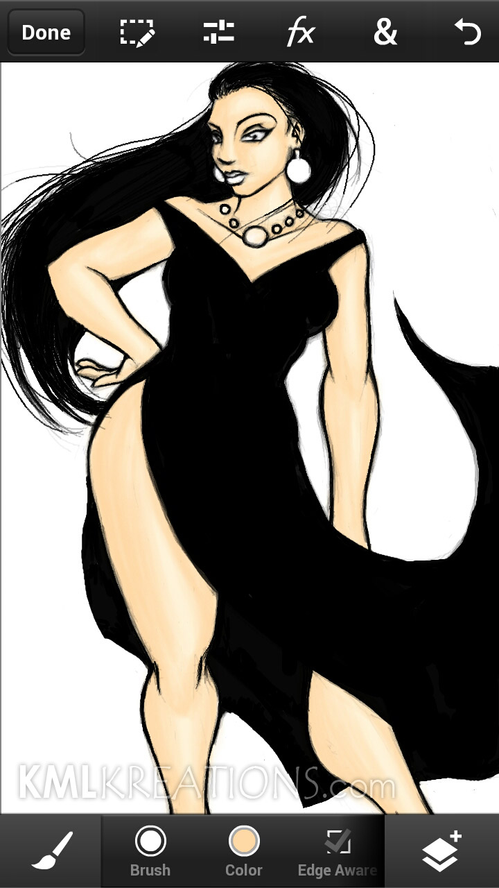 Curves in a Black Dress and Heels_WIP08.jpg