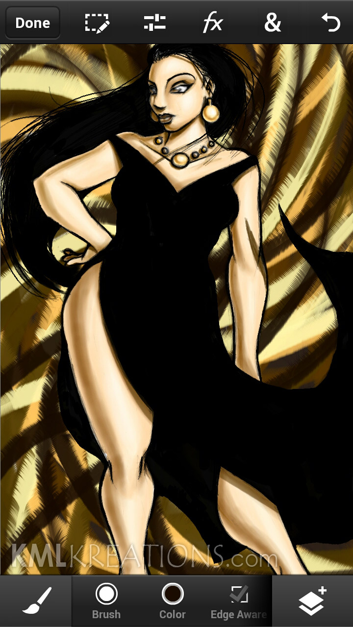 Curves in a Black Dress and Heels_WIP09.jpg