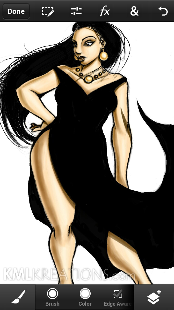 Curves in a Black Dress and Heels_WIP10.jpg