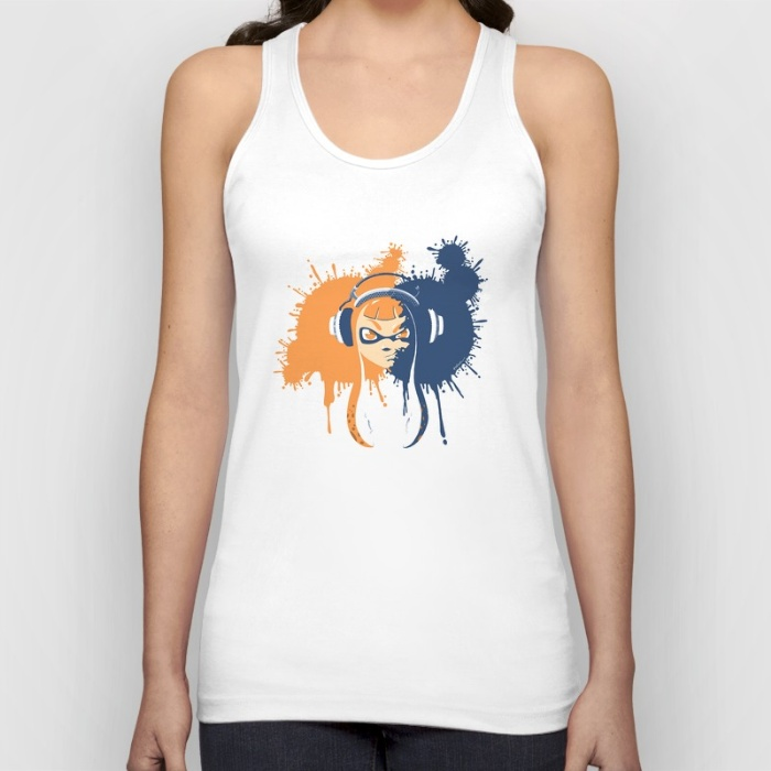 """Squid Girl Splash Jam"" Tank Top"