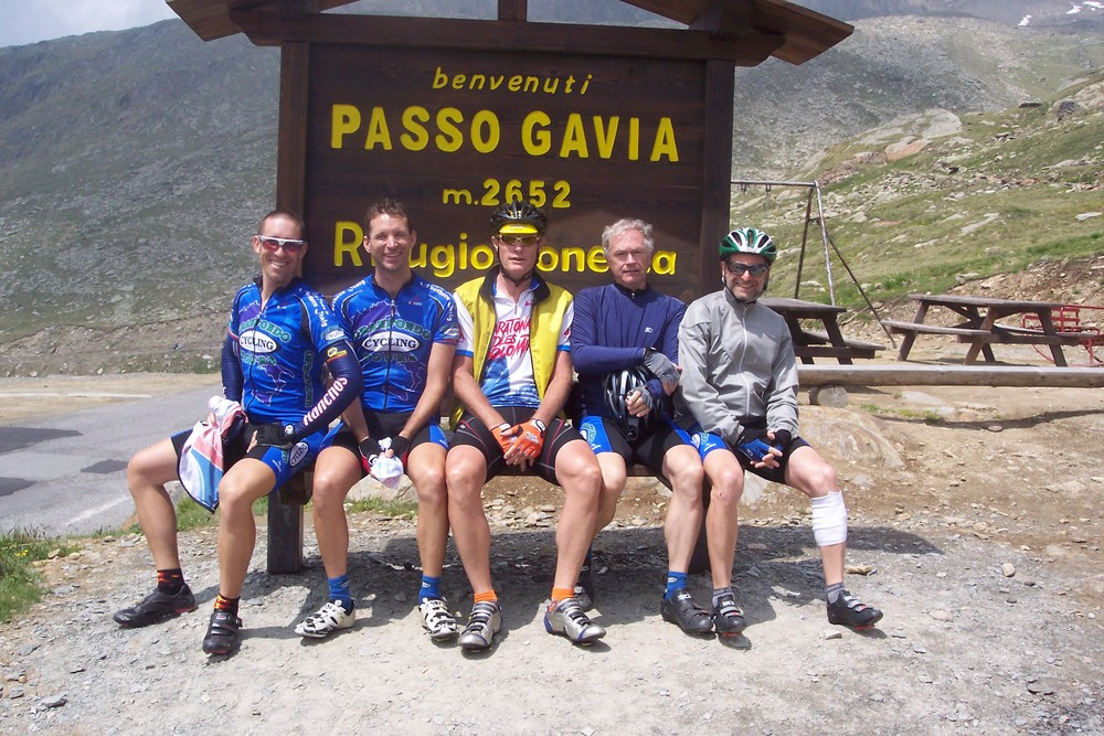 gavia pass cycling